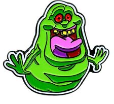 Ghostbusters Slimer Character Metal Enamel 1 Inch Tall Pin