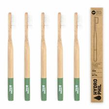 Hydrophil Adult - Biodegradable, Bamboo Toothbrush Green - Medium - Plastic Free