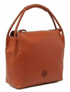 """NEW Tory Burch Taylor Hobo Leather Bag """"Desert Spice"""" $550"""