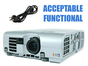 Mitsubishi SL1U 3LCD Projector - Acceptable Functional HD 1080i w/Power Cable