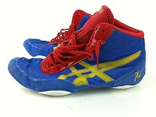 classic fit 38890 4cd41 Asics JB Elite v2.0 Wrestling Shoes Men s Size 7 J501N Red Blue