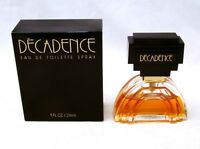 Parfums International DECADENCE Eau de Toilette Spray 1 oz 29 ml NEW NIB VINTAGE