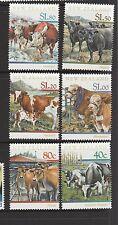 New Zealand 1997 cattle UM SG 2043/8