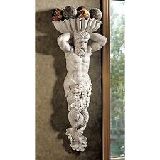 EU9320 -  Atlantes, God of the Sea Wall Sculpture