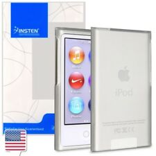 TPU Rubber Soft Skin Case Cover For iPod Nano 7th Gen 7 7G Frost Clear White