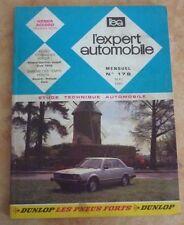 revue technique l'expert automobile N°176 HONDA ACCORD 1979 + FICHES TECHNIQUES