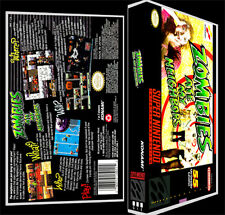 Zombies Ate My Neighbors - SNES Reproduction Art Case/Box No Game.