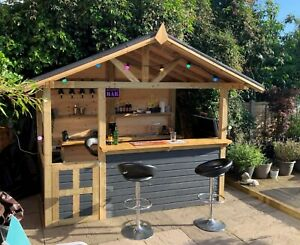 Home Bar / Barbeque DIY Cocktail Gin Bar BBQ Pub (Build Plans Only No Materials)