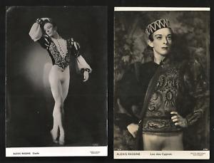 RALPH HELPMANN. TWO VINTAGE PHOTOGRAPHS. VIC-WELLS BALLET. SADLER'S WELLS BALLET