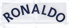 Lextra Sporting ID 2008 -2010 Manchester United CL Away ' RONALDO ' nameset