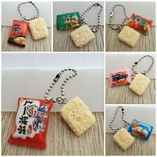 Instant noodles food jewellery keyring keychain birthday gift party favour