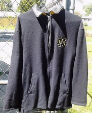 NCAA Football Golden Bear Notre Dame Fighting Irish Wool Leather Jacket Coat XL
