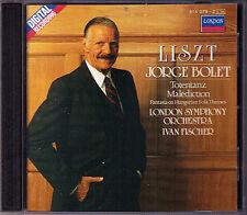 Joege BOLET: LISZT Totentanz Fantasia Hungarian Folk Malediction CD Ivan FISCHER