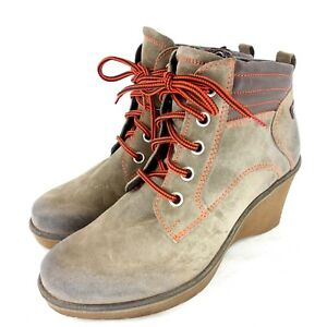 Joseph Seibel Women's Boots Shoes Size 39 Leather Braun Lined Np 105 New