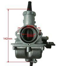 Genuine Mikuni 30mm Carburetor Round Slide VM26 Carb For Honda Kawasaki  zu