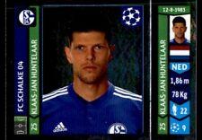 Panini Champions League 2014/15 - Klaas-Jan Huntelaar FC Schalke 04 No. 517