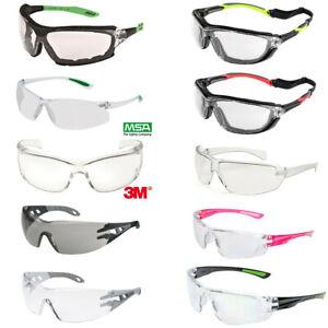 Schutzbrille Arbeitsschutzbrille Arbeitsbrille Brille 3M, MSA, Reis, Uvex