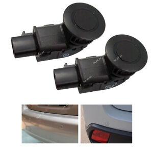 2X 8934145030 For Toyota Sienna 05-10 Black Parking Reverse Assist Bumper Sensor