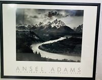 1997 Ansel Adams Authorized Edition The Tetons and The Snake River FRAMED Print