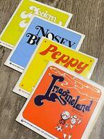 THE SATURDAY EVENING POST Kids Vinyls Set of 4 Records (7-Inch Vinyl Records)