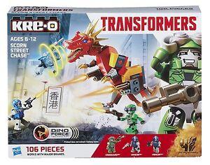 KRE-O Transformers A6950 Scorn Street Chase Age of Extinction Hasbro