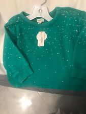 Gymboree Sweatshirt Size 2T Nwt $34.50 Distressed Paint Platters