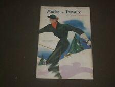1935 DECEMBER 1 MODES ET TRAVAUX MAGAZINE - CREATION BURBERRY'S - FR 162