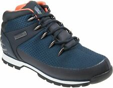 Timberland Authentic Men's Euro Sprint A1QKA Lace Up Navy Ripstop Hiker Boots