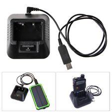 UV-5R USB Battery Charger for Baofeng UV-5R UV-5RE DM-5R Walkie Talkie Ham Radio