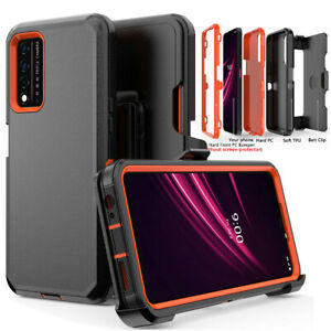 For T-Mobile REVVL V Plus 5G Case Shockproof Cover Stand Belt Clip Fits Otterbox