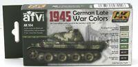 AK Interactive AK554 1945 German Late War Colors (AFV Series) Acrylic Paint Set