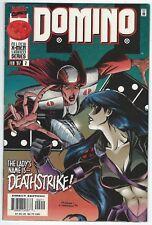 Domino No.2 February 1997 Marvel X-Men Limited Series Raab/Perrin/Candelario G+