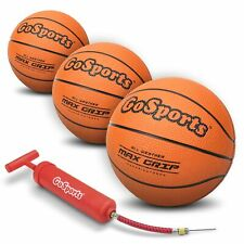 """GoSports 7"""" Mini Basketball 3 Pack with Premium Pump - Perfect for Mini Hoops..."""
