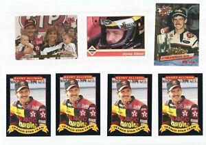 Lot of (58) AUTO RACING Cards Maxx 1991 DAVEY Allison DALE Earnhardt & Rookies +