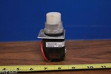 Allen-Bradley 800H-PRTH16W Pilot Light Push to Test LED White 120VAC, 30mm