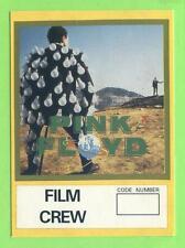 Pink Floyd - Konzert-Pass Film Crew Gold - Schönes Sammlerstück - Kein Aufkleber