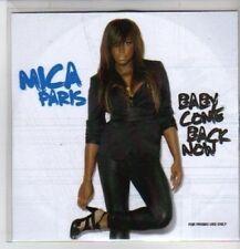 (CQ68) Mica Paris, Baby Come Back Now - 2009 DJ CD