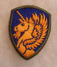 WWII 13TH AIRBORNE DIVISION OD BORDER MINT