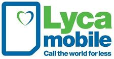 lycamobile std/micro/nano 3 in 1 mobile sim card. official pack + free post