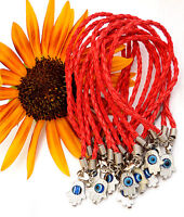 lot 12 Hamsa Red String Kabbalah holy Charm Bracelets israel