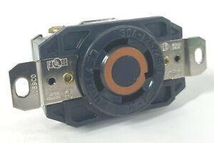 LEVITON 30A Nylon Locking Receptacle L14-30R 125/250V 4W Wall Outlet