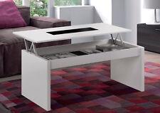Habitdesign (0t1638bo) - mesa de centro elevable acabado blanco brillo y...