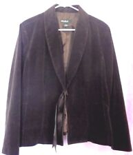 EDDIE BAUER Evening Jacket  Ribbon/Closure Cotton Shell/Polyester lined Size:18