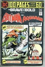 Brave And The Bold #114-1974 vg/fn Aquaman Batman 100 page Giant