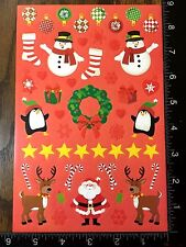CHRISTMAS STICKERS - BY DARICE - ONE SHEET OF BEAUTIFUL STICKERS - #BELEN15