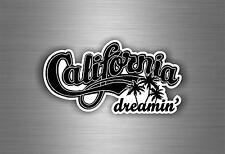 Sticker adesivi adesivo tuning auto moto bandiera california dreamin vintage r2