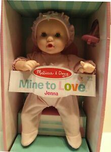 """Melissa & Doug Mine to Love - Jenna 12"""" Baby Doll"""