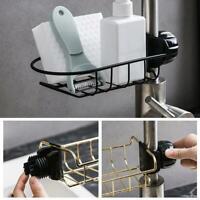 Kitchen Sink Faucet Sponge Soap Cloth Drain Rack Storage Organizer Holder Racks