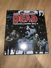 The Walking Dead Comic Book Series 2 Trading Cards Rare Previews Exc Binder Set