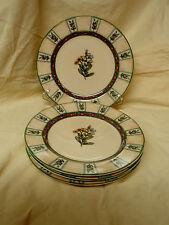 Lot 4 Winslow Manor PTS International Interiors Salad Luncheon Stoneware Plates